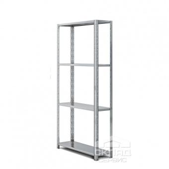 Полочный стеллаж Смарт 2000(h)х1000х300 мм (4 яр. х 80 кг)