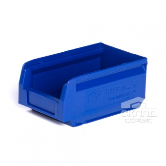 Пластиковый лоток (165х100х75 мм) синий