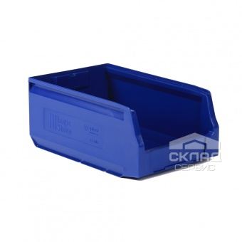 Пластиковый лоток  (350х225х150 мм) синий