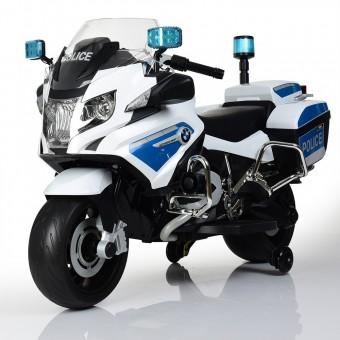 Детский мотоцикл Police Z212 белый