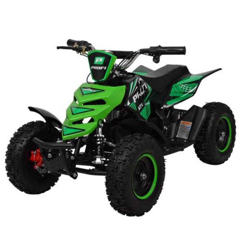 Детский квадроцикл ATV 5E зеленый