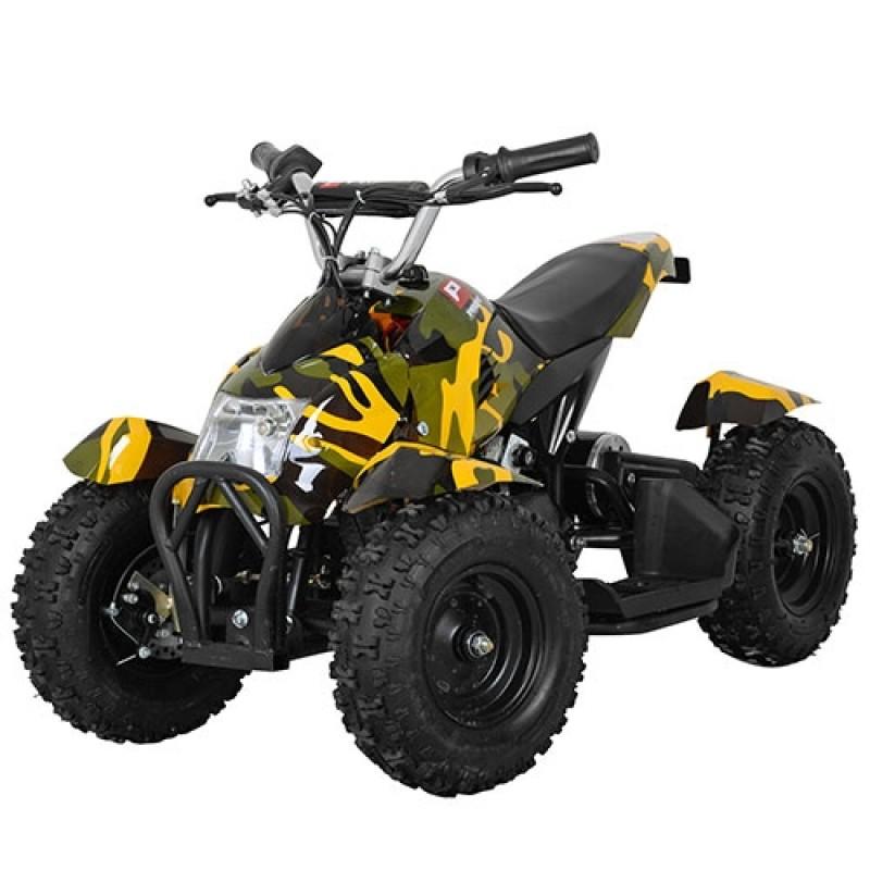 Детский квадроцикл HB-6 EATV800 желтый