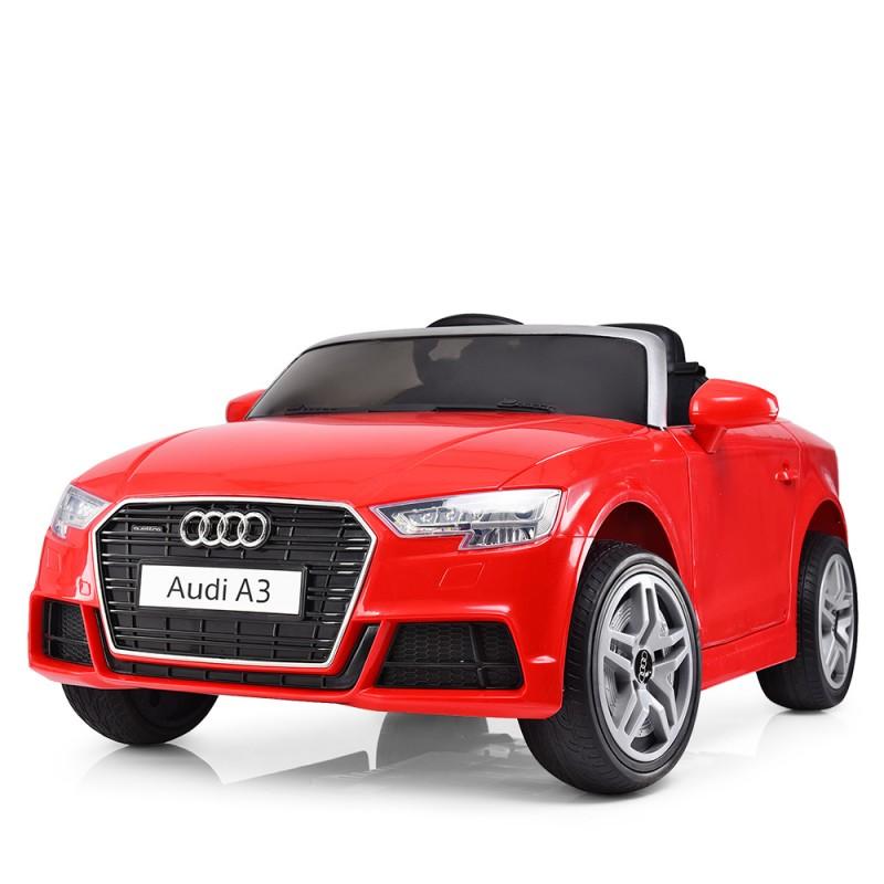 Детский электромобиль Audi A3 красный