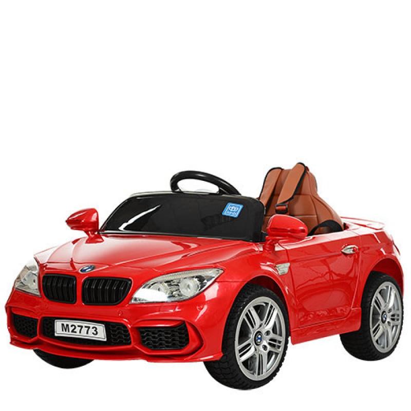 Детский электромобиль BMW M 2773 красный