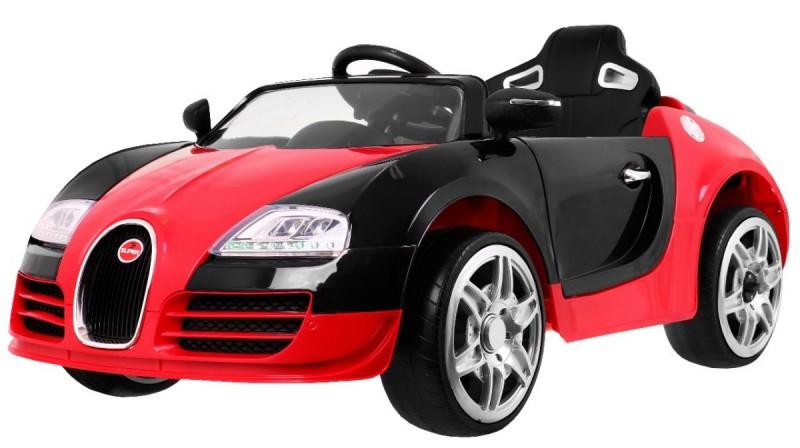 Детский электромобиль Bugatti JE1188 красный