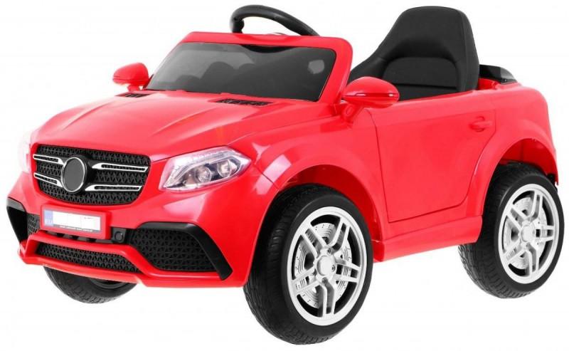Детский электромобиль Mercedes 1558 красный