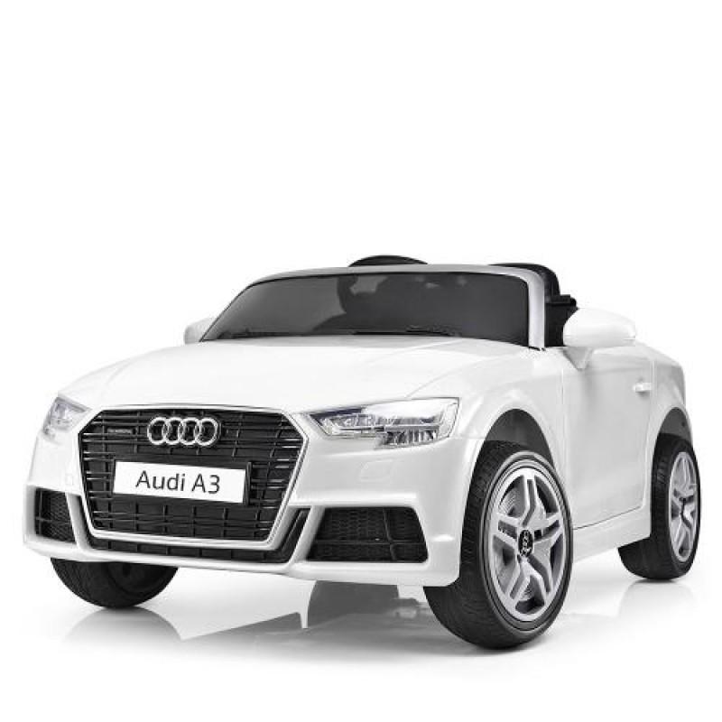 Детский электромобиль Audi A3 белый