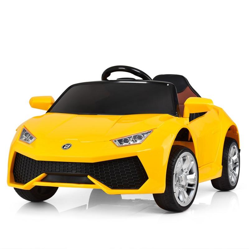 Детский электромобиль Lamborghini M 3826 желтый