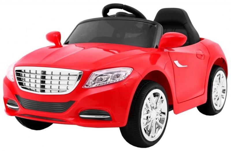 Детский электромобиль Mercedes S2188 красный