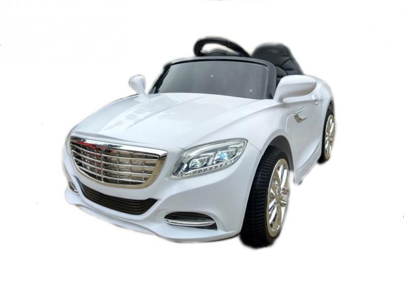 Детский электромобиль Mercedes S2188 белый