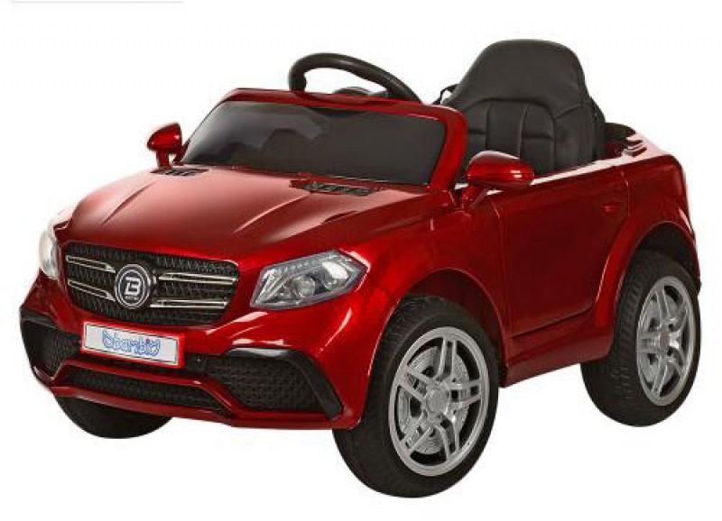 Детский электромобиль Mercedes 1558 лак красный