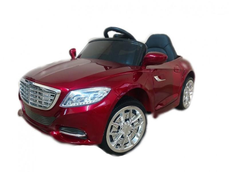 Детский электромобиль Mercedes S2188 лак красный