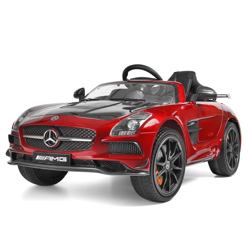 Детский электромобиль Mercedes SLS 812 лак