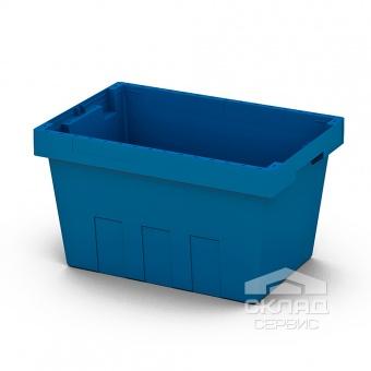 Вкладываемый контейнер Instore (5328) 490х330х280 мм синий