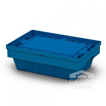 Вкладываемый контейнер Instore (5314) 490х330х140 мм с крышкой L53 синий
