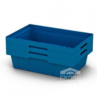 Вкладываемый контейнер Instore (6417) 600х400х170 мм синий