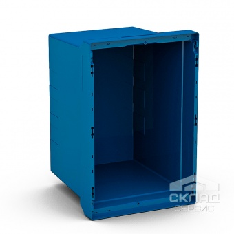 Купить Вкладываемый контейнер Instore (6442) 600х400х420 мм синий