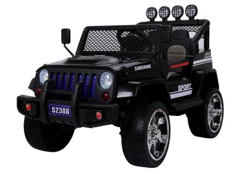 Детский электромобиль Jeep 2388 черный