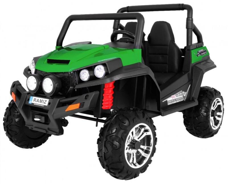 Детский электромобиль Buggy S2588 зеленый
