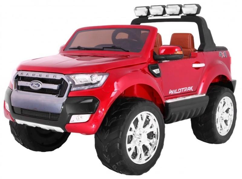 Детский электромобиль Ford Ranger 650 красный лак