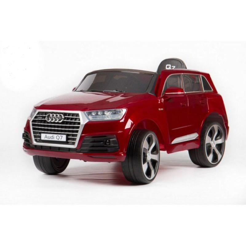 Детский электромобиль Audi Q7 2188 лак красный