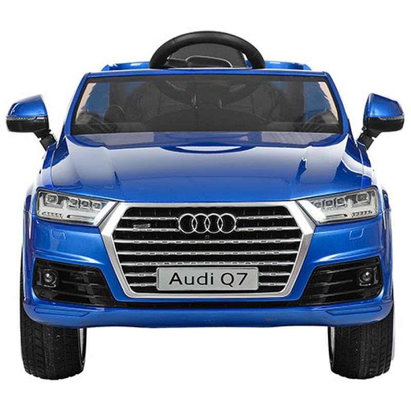 Детский электромобиль Audi Q7 3231 лак синий