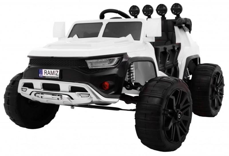 Детский электромобиль Buggy Frog 555 белый