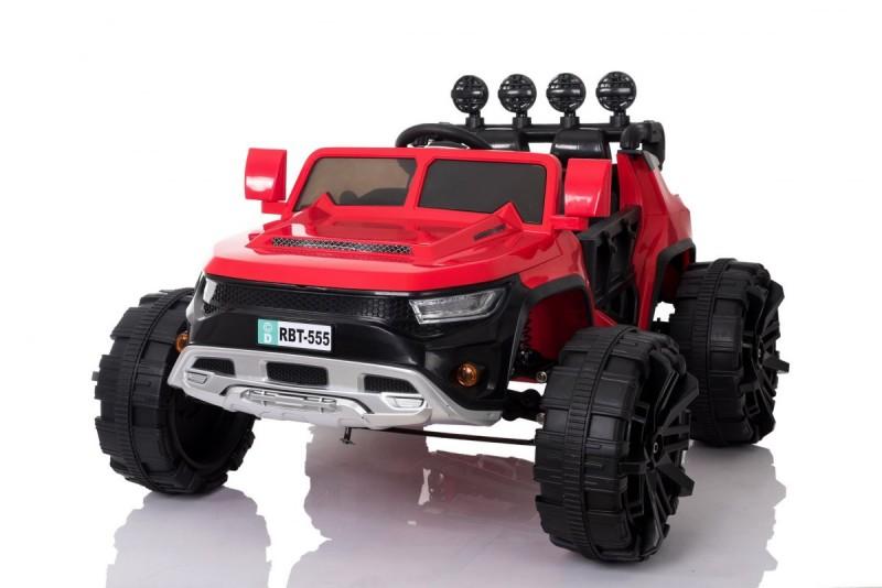 Детский электромобиль Buggy Frog 555 красный