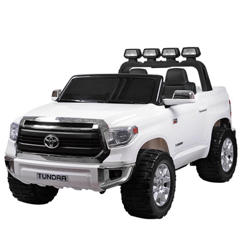Детский электромобиль Toyota Tundra белый