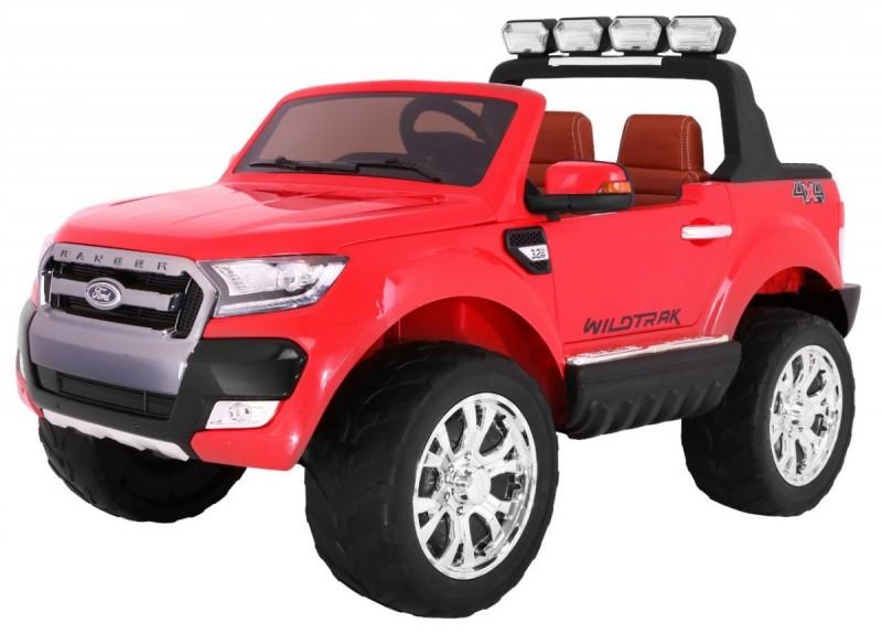 Детский электромобиль Ford Ranger 650 красный