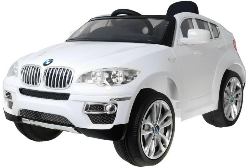 Детский электромобиль BMW X6 белый