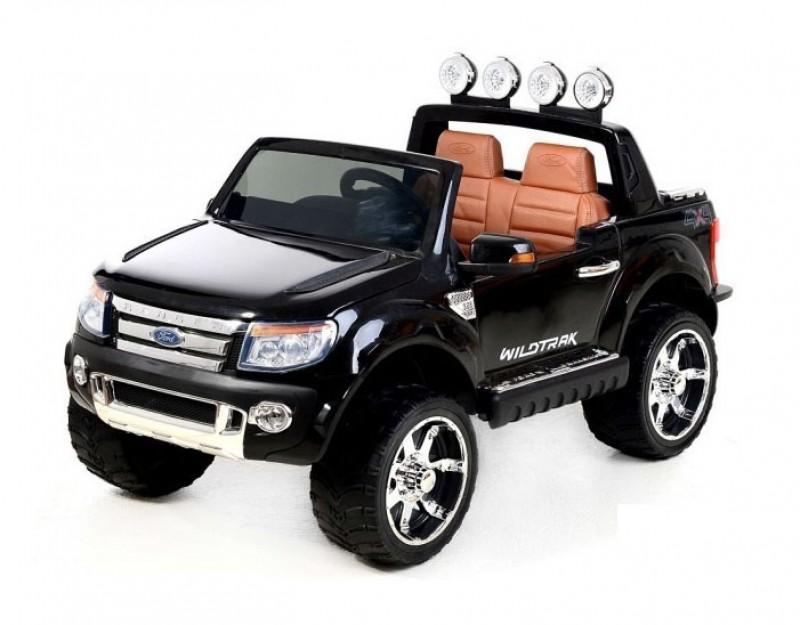 Детский электромобиль Ford Ranger 150  лак черный