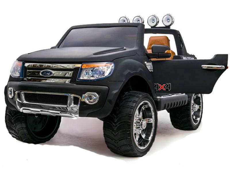 Детский электромобиль Ford Ranger 150 черный матовый