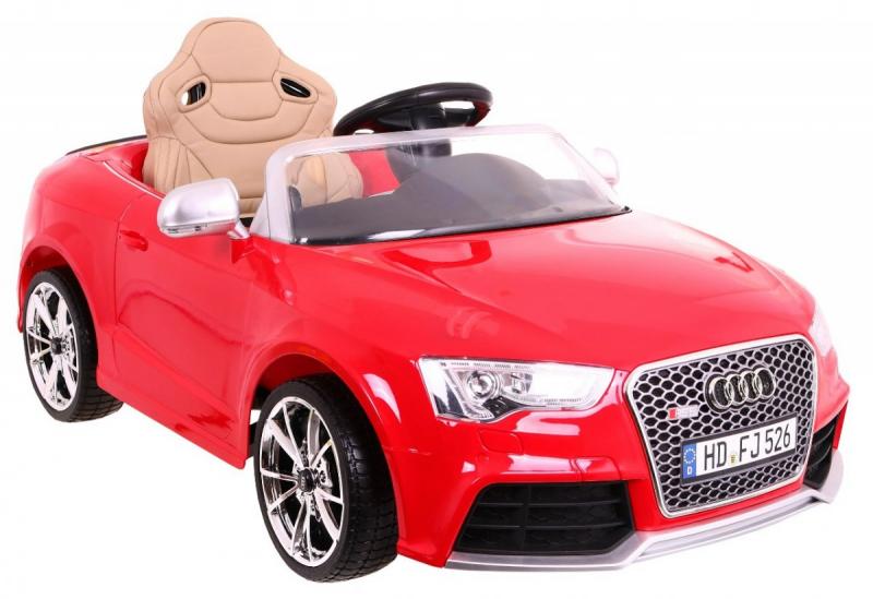 Детский электромобиль Audi RS5 красный