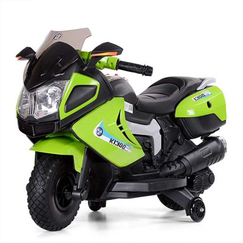 Детский мотоцикл M 3625EL зеленый