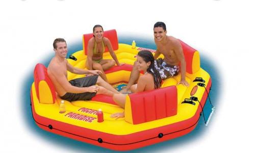 Inflatable raft of Intex Pacific Paradise INTEX/INTEKS buy