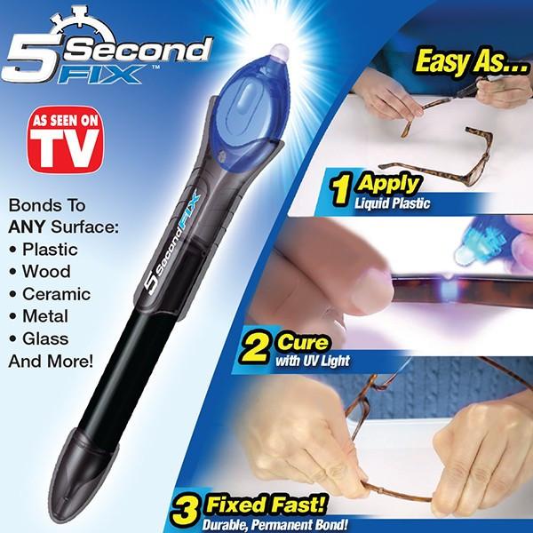 Купить Универсальный быстросохнущий клей 5 Second Fix 5 секонд фикс