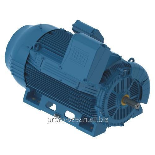 Купить Высоковольтный двигатель W50 400J/H 400 кВт 3000 об/мин. B3R 6000В