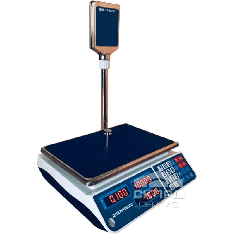 Купить Торговые весы ВТД-ЕЛ 30 LED