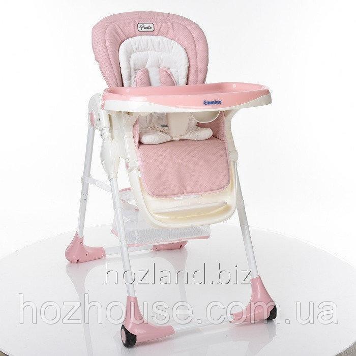 Buy Стульчик для кормления EL Camino PUNTO ME 1001-8 Pink