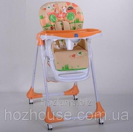 Buy Стульчик для кормления Bambi M 3234-5 оранжевый