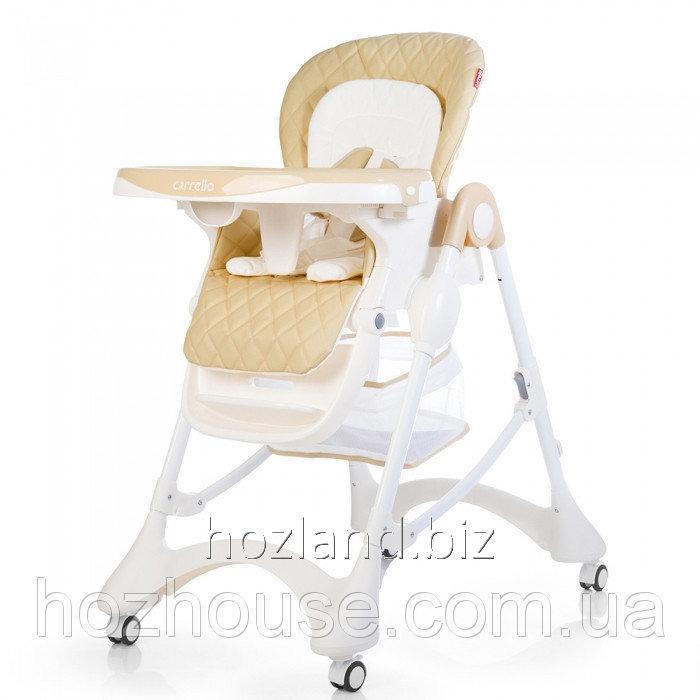 Buy Стульчик для кормления CARRELLO Caramel CRL-9501/3 Beige