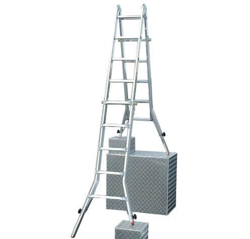 Купить Лестницы шарнирные, Многофункциональные шарнирные лестницы, стремянки, рабочие платформы