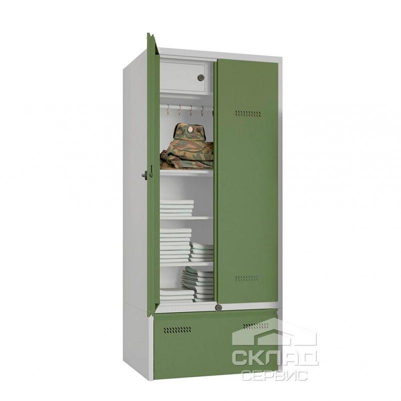 Армейский шкаф WP2-40 (2225x1000х600 мм)