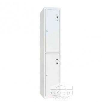 Секционный шкаф для раздевалок ШО-300/1-2 (1800x300x500 мм)