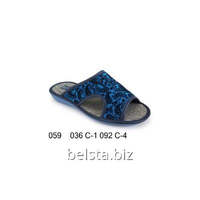Women's slippers with 059/036-1