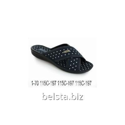 Тапочки женские 1-70/115 С-197