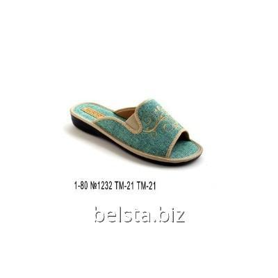 Тапочки женские 1-80/1232/ТМ-21