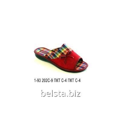 Тапочки женские 1-93/202 С-9/ПКТ-4
