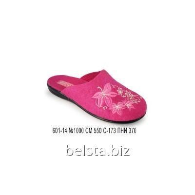 Тапочки женские 601-14/ПНИ-550 роз